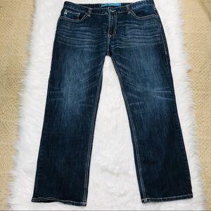 Rock & Roll Denim Revolver Straight Jeans 39x30